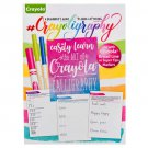 377312 Wholesale CRAYOLIGRAPHY Book Beginner's Guide to Hand x