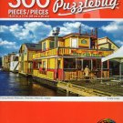 Cra-Z-Art Floating Mexican Restaurant, Fishermans Wharf, BC, Canada - 300 Pieces Jigsaw Puzzle