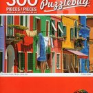 Cra-Z-Art The Colrful Houses of Burano, Venece, Italy. - 300 Pieces Jigsaw Puzzle