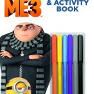 Despicable Me Bendon 41950 3 Coloring and Activity Book with Markers