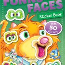 Funny Faces Sticker Book: Pets (Funny Faces Sticker Books)