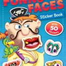 Funny Faces Sticker Book: Pirates (Funny Faces Sticker Books)