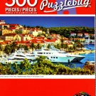 Luxury Yachts in Hvar Town, Mediterran Piace on The Adriatic Coast - 500 Piece Jigsaw Puzzle