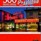 Cra-Z-Art Pike Place Public Market, Seattle, WA - 500 Piece Jigsaw Puzzle
