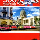 Colorful Classic Cars, Old Havana - 500 Piece Jigsaw Puzzle