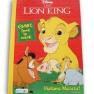Lazy Days The Lion King Hakuna Matata Coloring and Activity Book - 80 Pages