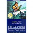 Multi Craft 12 Colors Soft Oil Pastels Color Factory