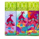 TROLLS 100 Piece Puzzle Bundle of 3
