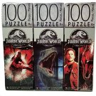 JURASSIC WORLD 100 Piece Puzzle Bundle of 3