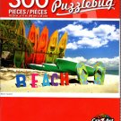 Beach Vacation - 300 Pieces Jigsaw Puzzle
