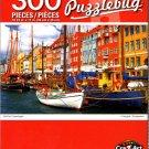 Cra-Z-Art Old Port Copenhagen - 300 Pieces Jigsaw Puzzle