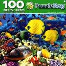 Cra-Z-Art Golden Butterflyfish - Puzzlebug - 100 Piece Jigsaw Puzzle