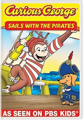 Curious George: Sails with the Pirates and Other Curious Capers! DVD (dv 001)