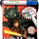 How to Train Your Dragon - Imagine Ink Magic Ink Pictures - Mess Free Marker - Games Inside