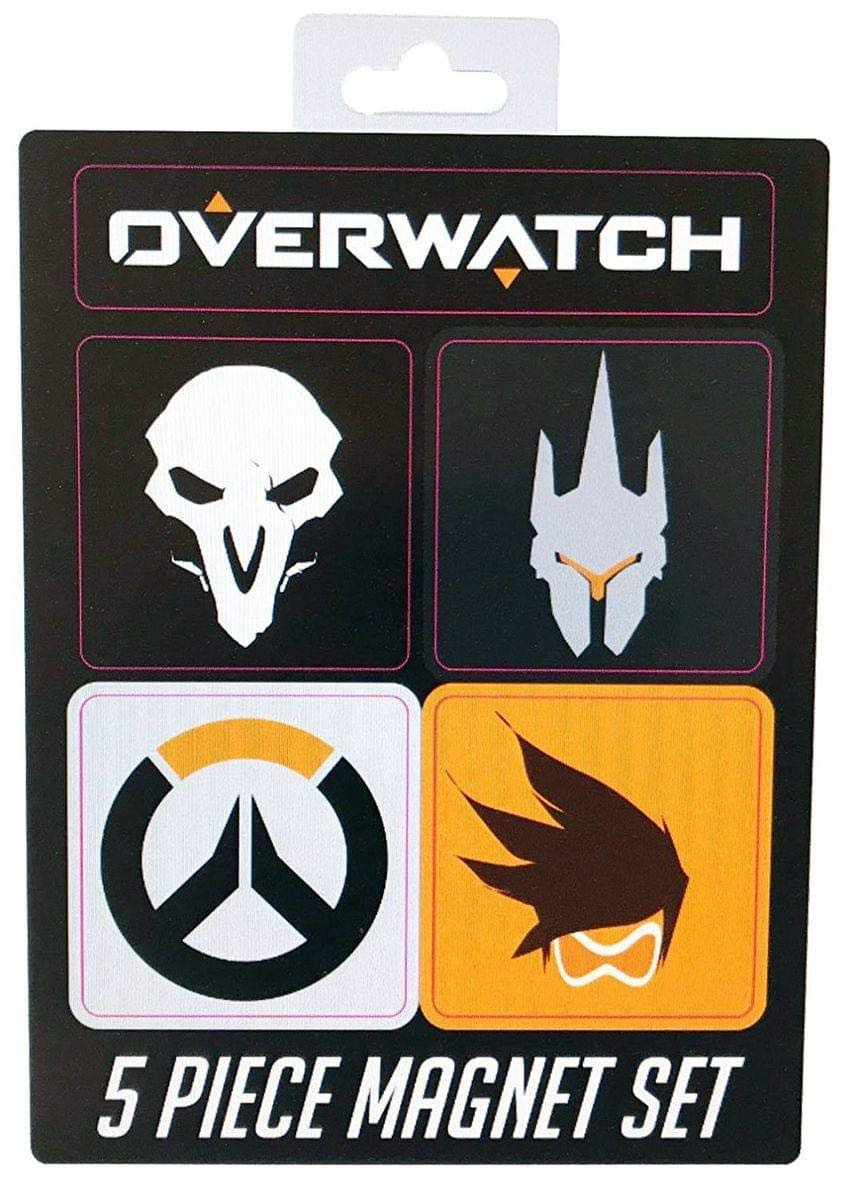Blizzard Entertainment Overwatch 5Pc Magnet Set Collectible Toys