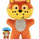 People Pet Heroes 490DTV Puppet Plush, White