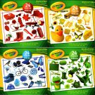 Crayola - 24 Pieces Educational Jigsaw Puzzle (Set of 4)