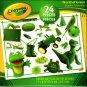 Crayola - 24 Pieces Educational Jigsaw Puzzle (Set of 4)