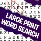 Large Print Word Search - All New Puzzles - (2018) - Vol.111