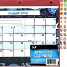 2019-2020 12 Months Student Calendar/Planner - 3-Ring Fashion Binder  (Edition #2)