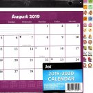 2019-2020 12 Months Student Calendar/Planner - 3-Ring Fashion Binder (Edition #4)