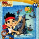 Disney Jake and The Never Land Pirates - 25 Piece Wooden Jigsaw Puzzle