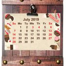2019-2020 16 Months Wall Calendar + Fashion Frame Board (Edition #3)