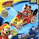 Disney Junior Mickey and The Roadster Racers - 14 Mini 3D Puzzle