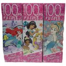 Princess Puzzle Gift Set -3-100 Piece Puzzle Set (300 pcs)