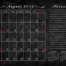 2019-2020 Academic Year 12 Months Student Calendar/Planner