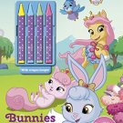 Bunnies Blooms (Color & Activity Crayons) (Whisker Haven Tales The Palace Pets)