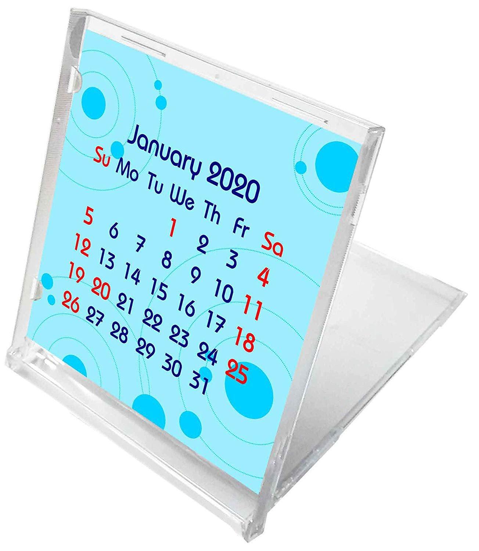 2019-2020 CD-Style Desk Calendar 16 Months Calendar/Planner / (Edition #5)