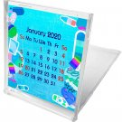 2019-2020 CD-Style Desk Calendar 16 Months Calendar/Planner / (Edition #7)