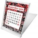 2019-2020 CD-Style Desk Calendar 16 Months Calendar/Planner / (Edition #8)