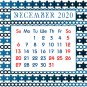 2019-2020 CD-Style Desk Calendar 16 Months Calendar/Planner / (Edition #9)