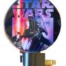 Classic Star Wars Night Light ~ Darth Vader, Storm Troopers, Yoda (Black)
