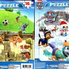 Nickelodeon Paw Patrol - 16 Pieces Jigsaw Puzzle - (Set of 2 Puzzles) v5