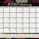 2019 Monthly Magnetic/Desk Calendar - 12 Months Desktop/Wall Calendar/Planner - (Edition #01)