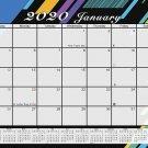2020 Monthly Magnetic/Desk Calendar - 12 Months Desktop/Wall Calendar/Planner - (Edition #02)