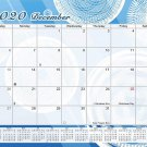 2020 Monthly Magnetic/Desk Calendar - 12 Months Desktop/Wall Calendar/Planner - (Edition #08)