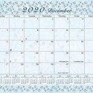 2020 Monthly Magnetic/Desk Calendar - 12 Months Desktop/Wall Calendar/Planner - (Edition #09)