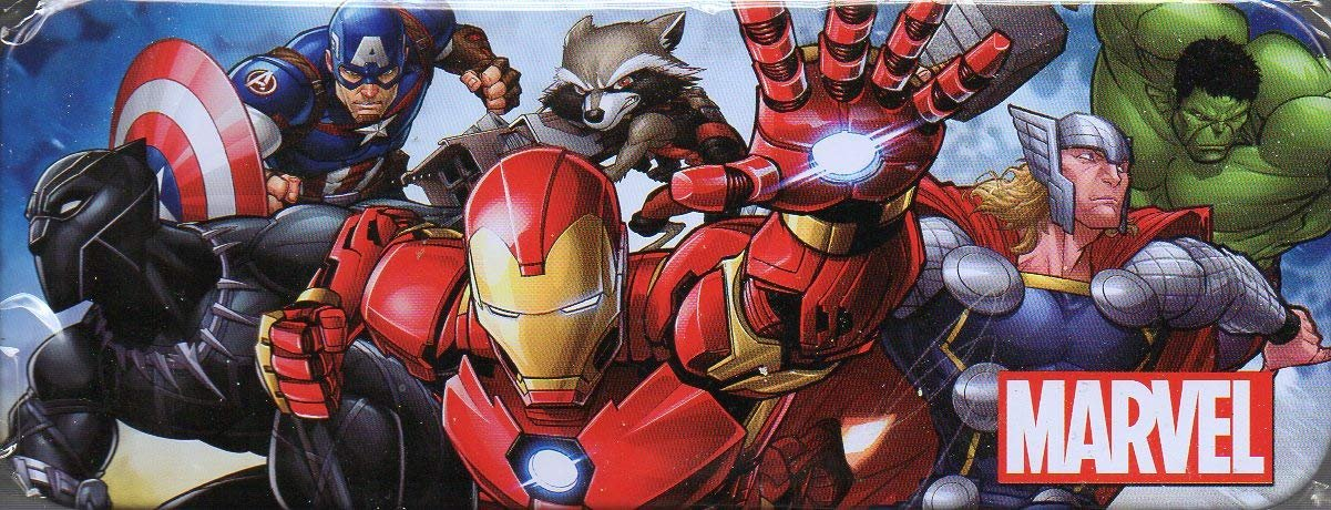 Avengers - Metal Tin Case Pencil Box Storage - v5
