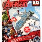 Marvel Avengers The Quinjet Mini 3D Puzzle Ages 6+ 19 Pieces Hulk Iron Man