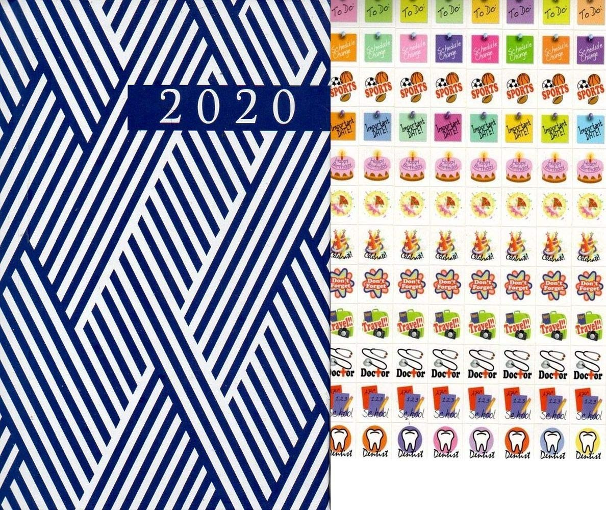 2020 Weekly Pocket Hardcover Appointment Planner/Calendar/Organizer (Edition #3)
