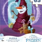 Olaf's Frozen Adventure - 63 Pieces Jigsaw Puzzle - v3