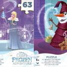 Olaf's Frozen Adventure - 63 Pieces Jigsaw Puzzle - Set of 2 Puzzle
