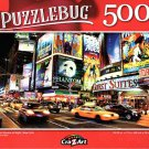 Cra-Z-Art Times Square at Night, New York - 500 Piece Jigsaw Puzzle - Puzzlebug