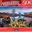 Cra-Z-Art Panoramic View of Stellisee Lake - 500 Piece Jigsaw Puzzle - Puzzlebug