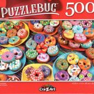 Cra-Z-Art Donut Party - 500 Piece Jigsaw Puzzle - Puzzlebug
