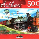 Steam Train at The Station by Vivienne Chanelle - 500 Piece Jigsaw Puzzle